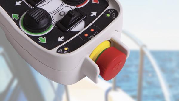 telecomandi per barche Wave Marine funzione stop