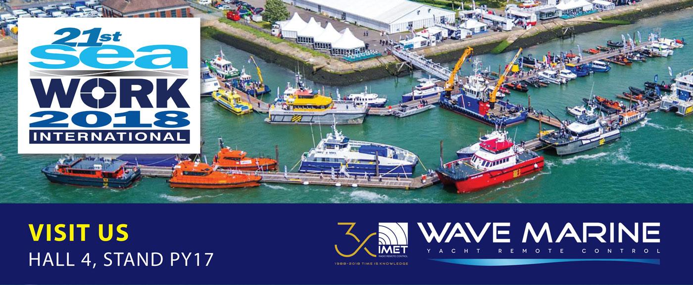 IMET_Wave Marine_Seawork_2018