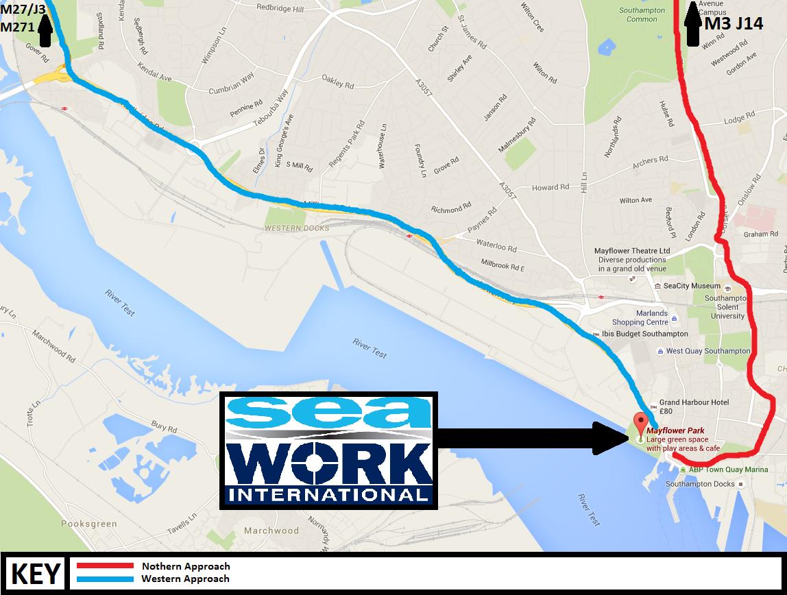 SeaWork International-Map_yacht remote control Wave Marine