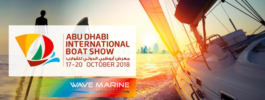 Abu_Dhabi_International_Boat_Show_2018_Wave_Marine_IMET_radio_yacht_remote_control